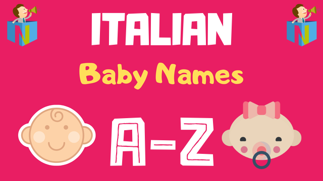 Italian Baby Names | 1000+ Names Available - NamesLook