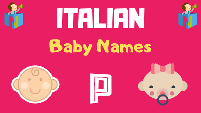 Italian Baby names starting with P - NamesLook