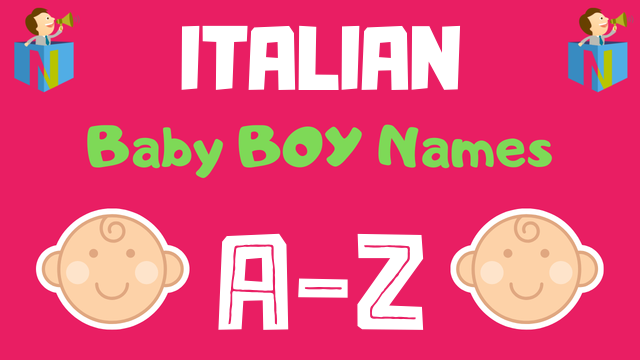 Italian Boy Name: 400+ Names Available - NamesLook