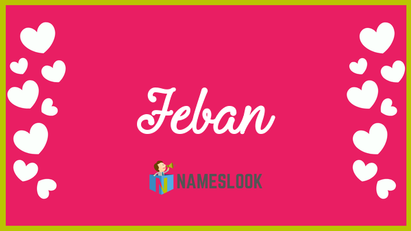 Jeban Meaning