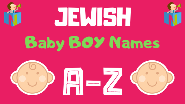 Jewish Baby Boy Names | 69 Names Available - NamesLook