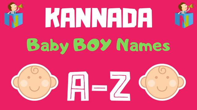 Kannada Baby Boy Names | 5700+ Names Available - NamesLook
