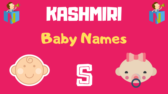 Kashmiri Baby names starting with S - NamesLook