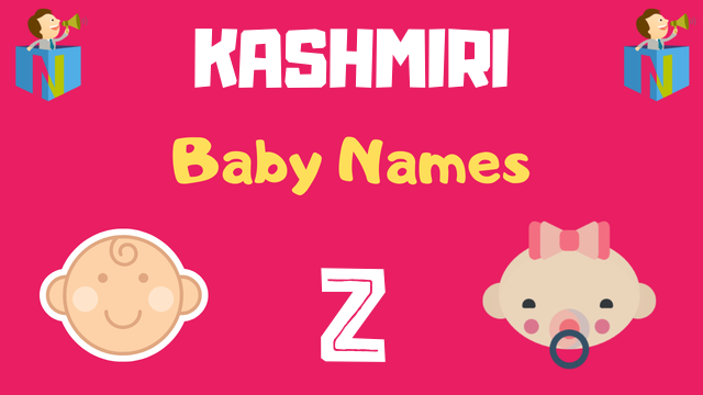 Kashmiri Baby names starting with Z - NamesLook