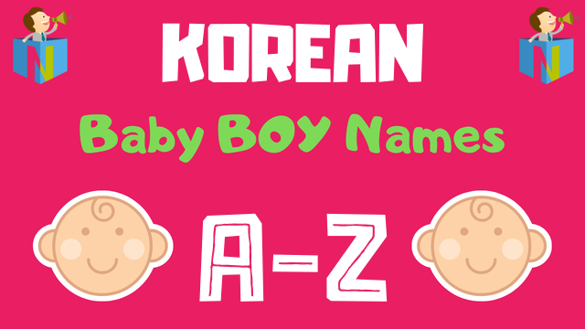Korean Baby Boy Names | 9 Names Available - NamesLook