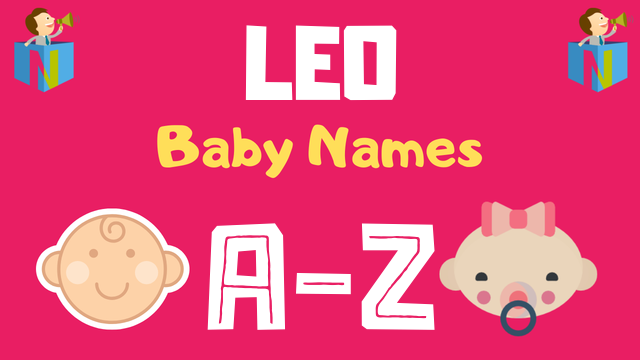 Baby Names for Leo Zodiac - NamesLook