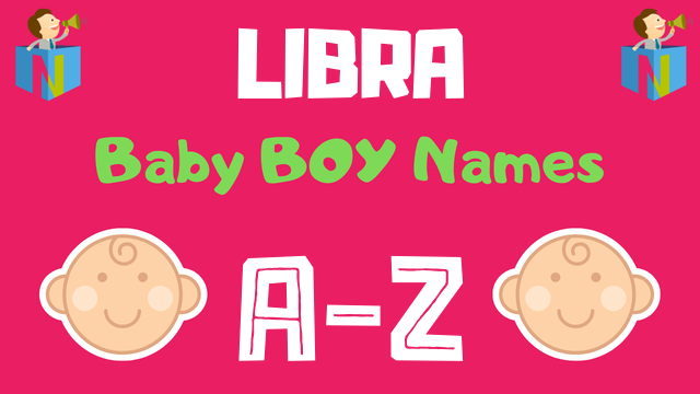 Baby Boy Names for Libra Zodiac - NamesLook