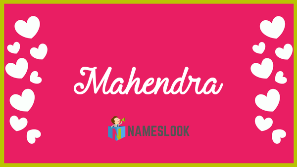 meaning of mahendra in astrology