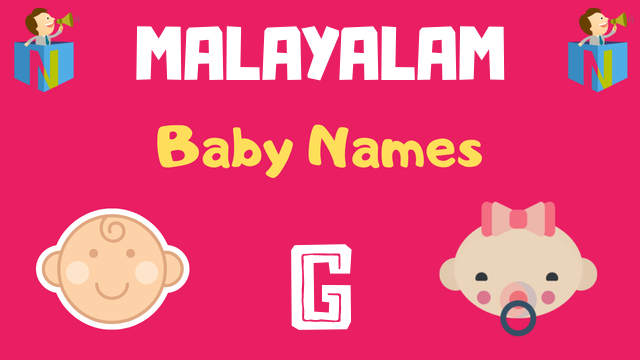 Malayalam Baby names starting with 'G' - NamesLook