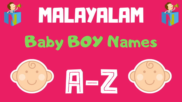 Malayalam Baby Boy Names | 4200+ Names Available - NamesLook