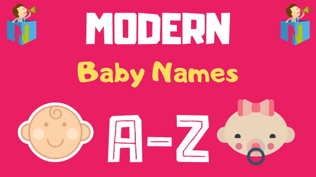 Modern Baby Names | 600+ Names Available - NamesLook