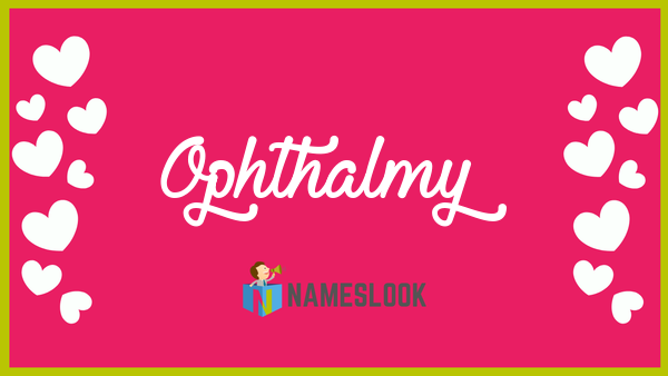 ophthalmy