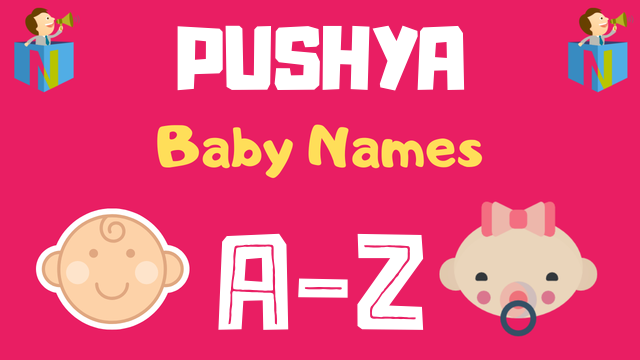 Baby Names for Pushya Nakshatra - NamesLook