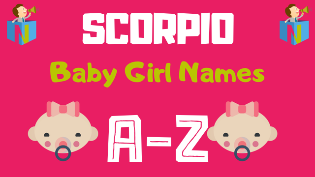 Baby Girl Names for Scorpio Zodiac - NamesLook