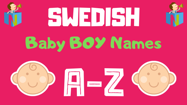 Swedish Baby Boy Names | 1100+ Names Available - NamesLook
