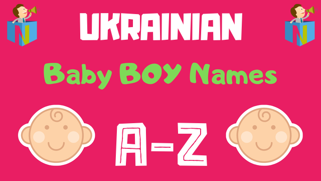 Ukrainian Baby Boy Names | 36 Names Available - NamesLook