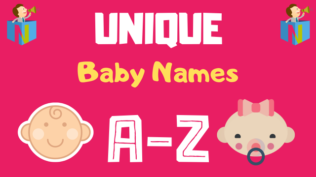 Unique Baby Names | 5500+ Names Available - NamesLook