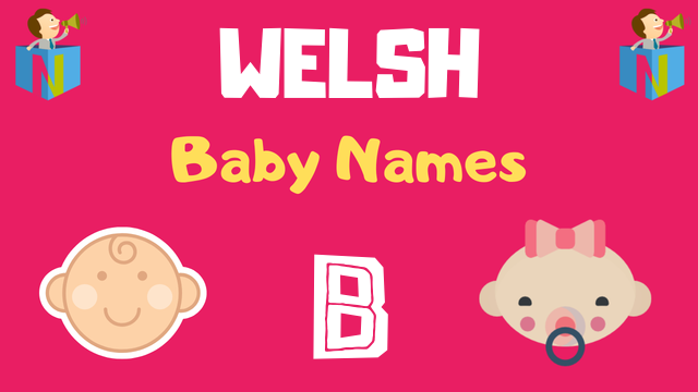 Welsh Baby names starting with B - NamesLook