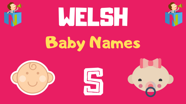 Welsh Baby names starting with S - NamesLook