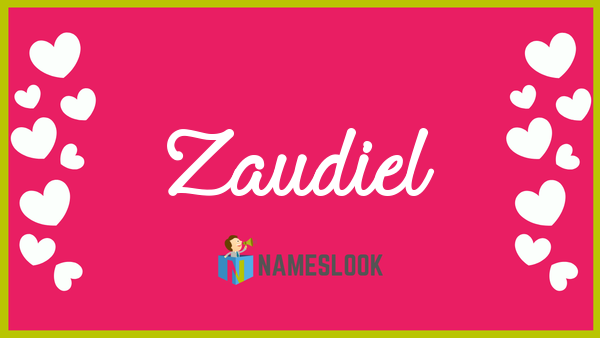 Zaudiel Meaning Pronunciation Origin And Numerology NamesLook - Audi pronunciation