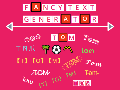Fancy Text Generator | 30+ Cool Text Styles